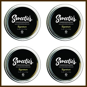 "Sweetie's Cheesecakes 3"" Jar - Signature 4 - Pack"