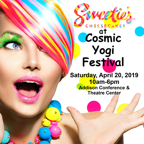 Sweetie's At Cosmic Yoga Festival